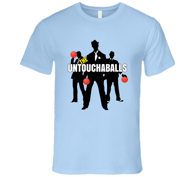 Untouchaballs Dodgeball Jersey T Shirt
