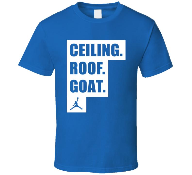 Ceiling Roof Goat Michael Jordan Quote Acc Basketball Fan