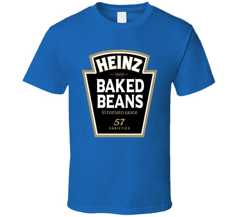 Heinz Baked Beans Can Logo T Shirt