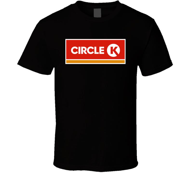 Circle K Convenience Shop Employee Store Logo T Shirt
