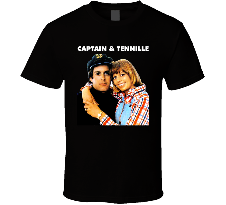 70s Music Captain And Tennille Soft Rock Pop Music Toni Daryl Dragon T Shirt