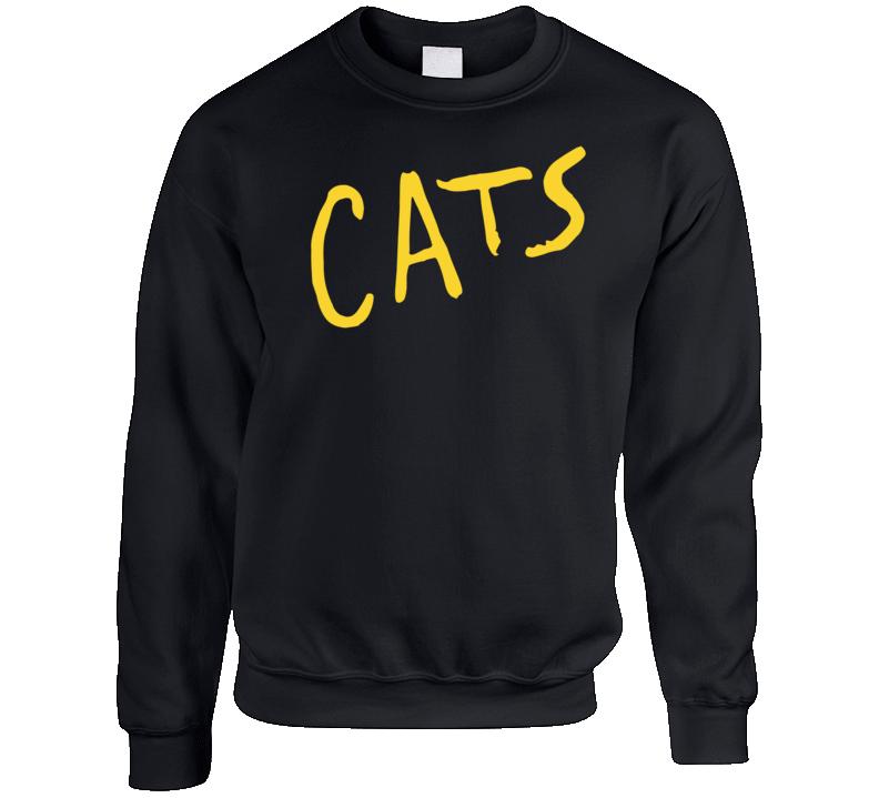 Cats Musical Movie Adaptation Logo Poster Crewneck Sweatshirt