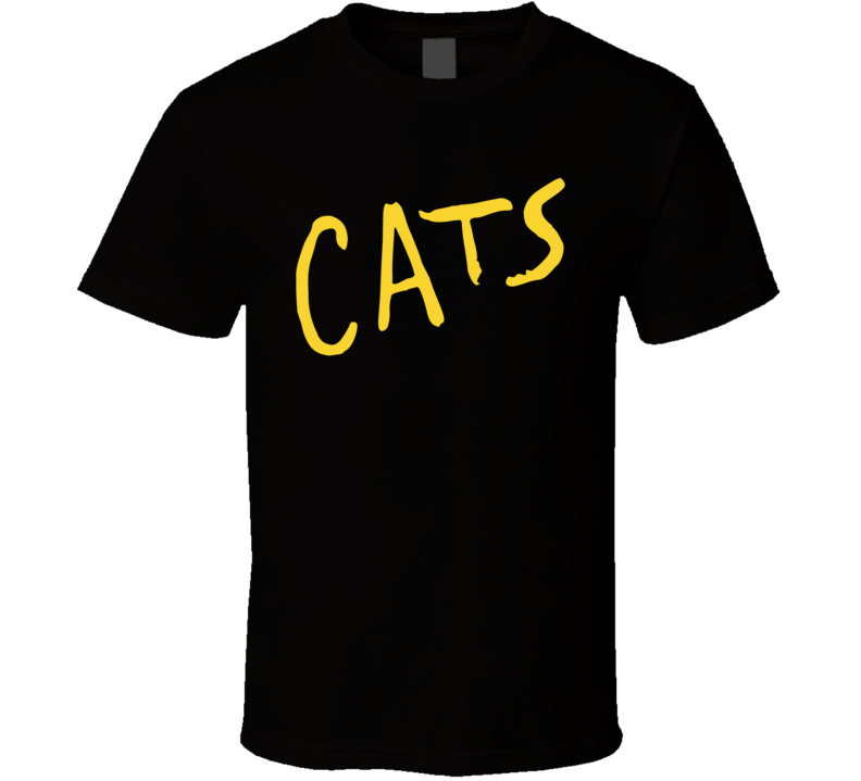Cats Musical Movie Adaptation Logo Poster T Shirt