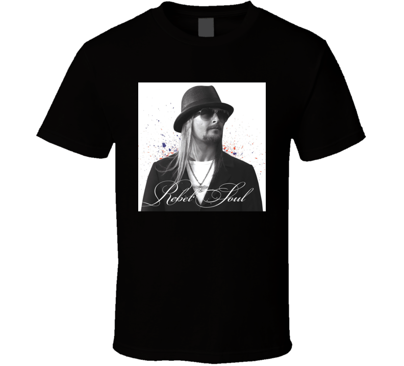 Kid Rock Rebel Soul Country Rock Music Album Fan Concert T Shirt