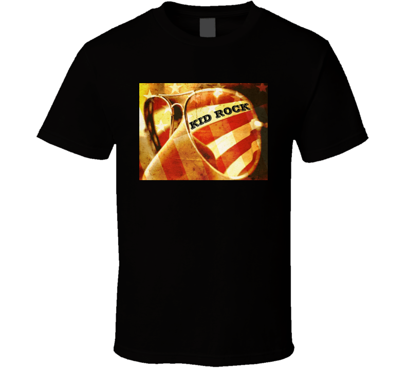 Kid Rock American Badass Usa Country Rock Music Icon Fan T Shirt