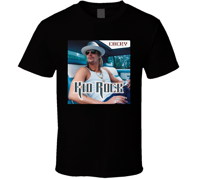 Kid Rock Cocky Country Rock Music Album Fan Concert T Shirt