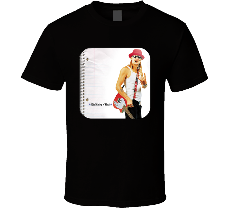 Kid Rock History Of Country Rock Music Album Fan Concert T Shirt