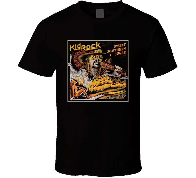 Kid Rock Sweet Southern Rock Country Music Album Fan Concert T Shirt