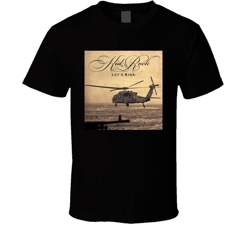 Kid Rock Let'd Ride Country Rock Music Album Fan Concert T Shirt