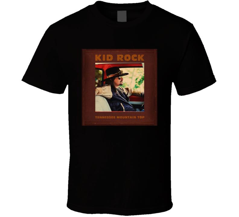 Kid Rock Tennessee Mountain Top Country Rock Music Album Fan Concert T Shirt
