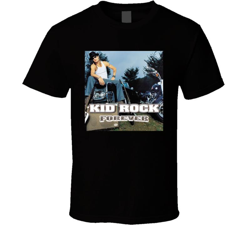 Kid Rock Forever Country Rock Music Album Fan Concert T Shirt