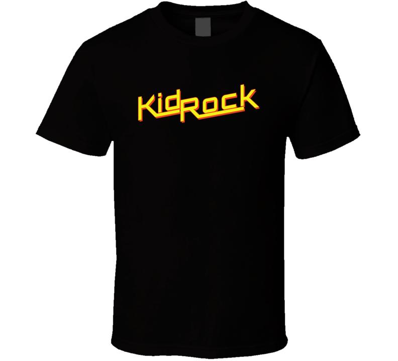 Kid Rock Country Music Rock Logo Fan T Shirt