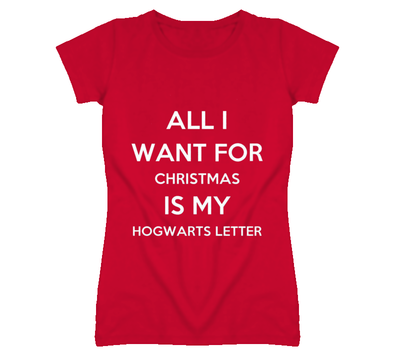 Christmas Hogwarts Harry Potter Keep Calm T Shirt