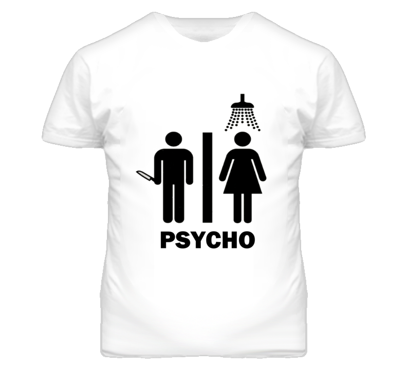 Psycho Movie Simple Funny T Shirt