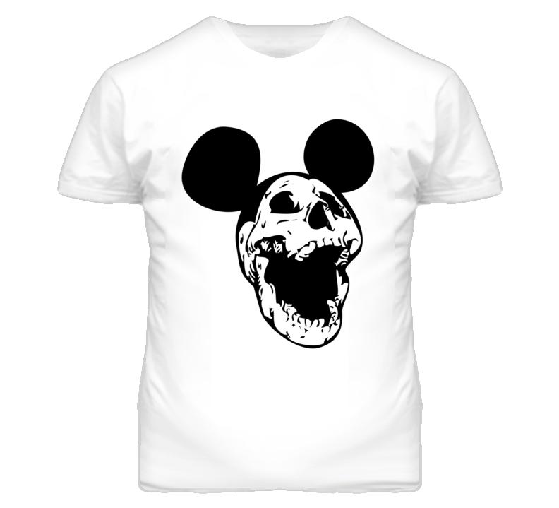Dead Mickey Spooky Halloween Skull T Shirt