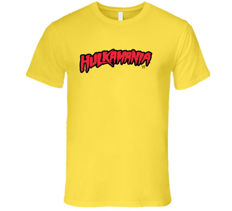 Hulkamania Hulk Hogan Wrestler Halloween Costume T Shirt
