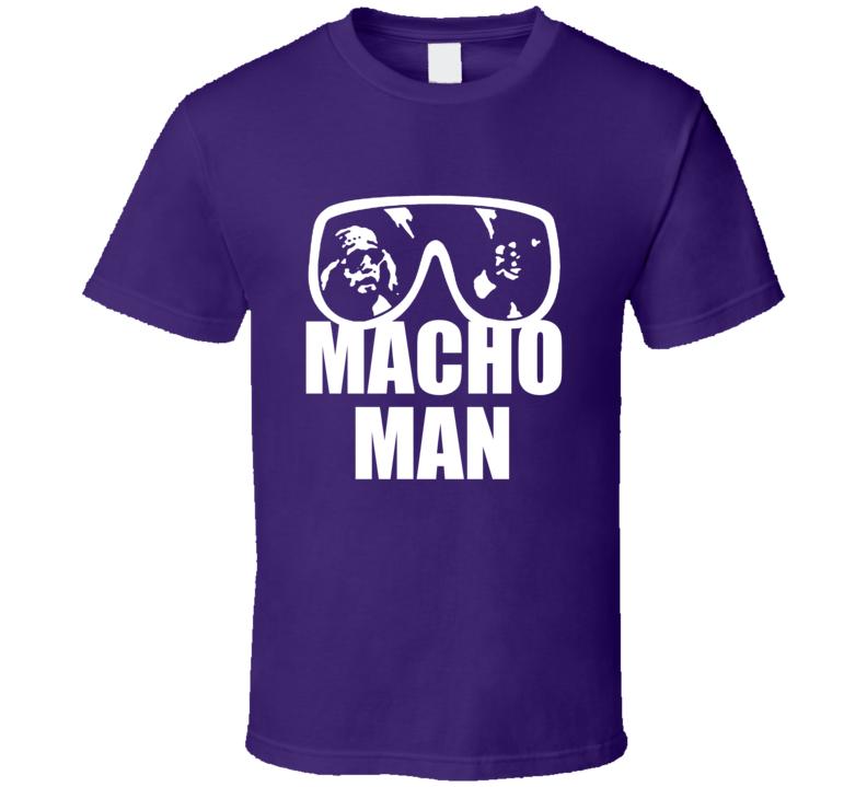 Macho Man Randy Savage Wrestler Halloween Costume T Shirt