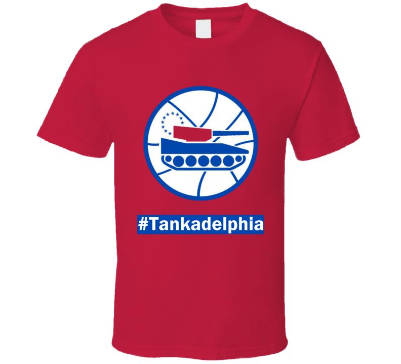 Tankadelphia Philly Basketball Season T Shirt