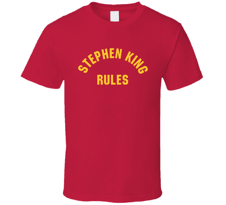 Monster Squad Stephen King Rules Movie T Shirt