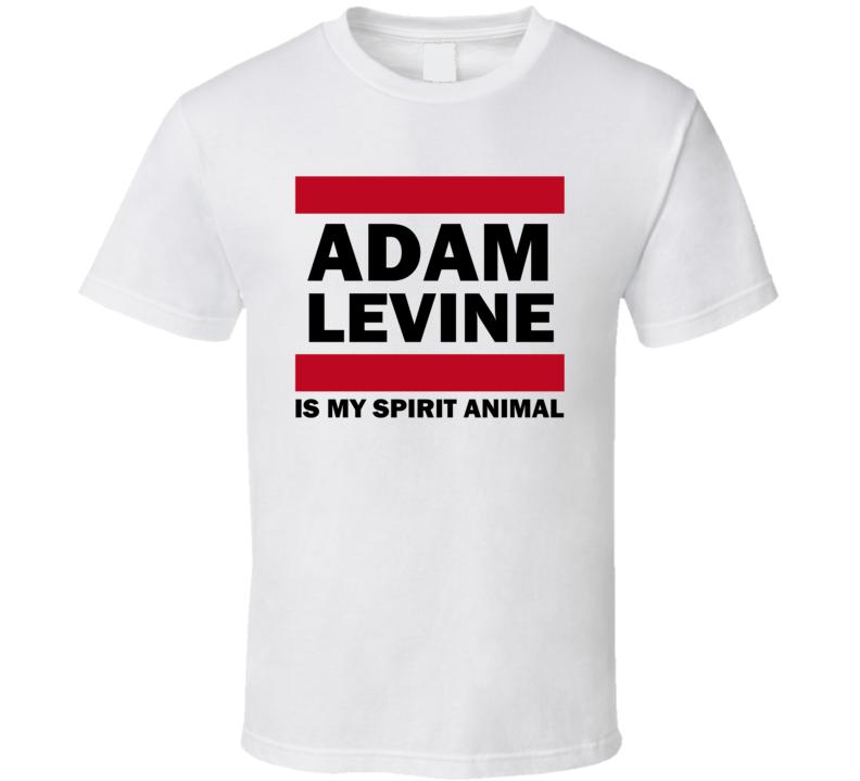 Adam Levine Is My Spirit Animal Funny Popular T Shirt