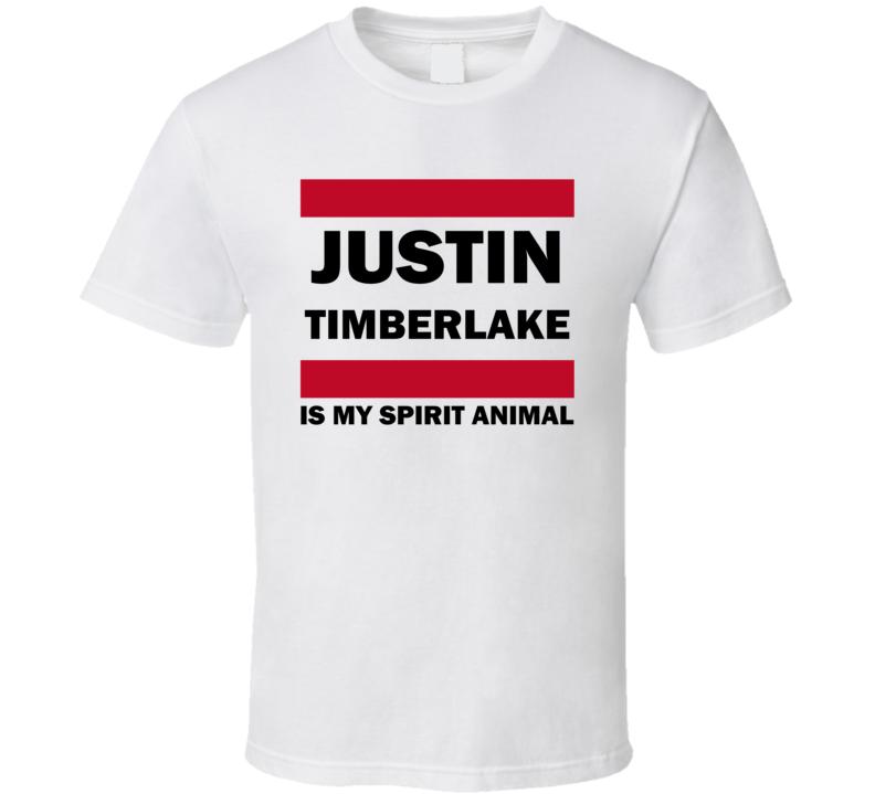 Justin Timberlake Is My Spirit Animal Funny Popular T Shirt