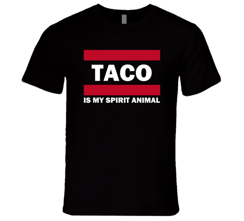 Taco Is My Spirit Animal Popular Funny T Shirt