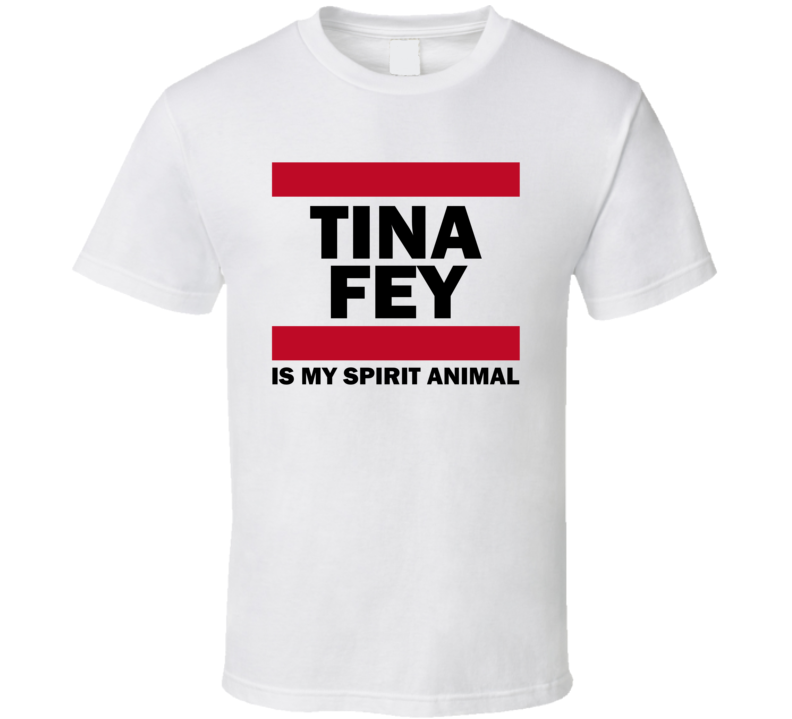 Tina Fey Is My Spirit Animal Funny Popular T Shirt