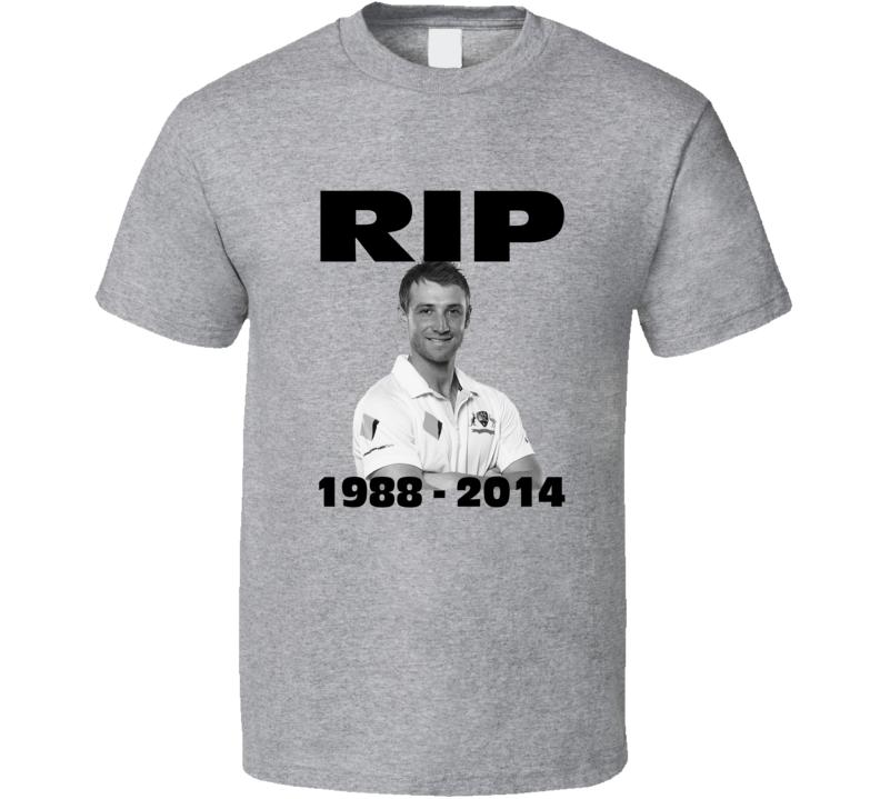 RIP Phillip Hughes Death Memorial Cricket Fan T Shirt