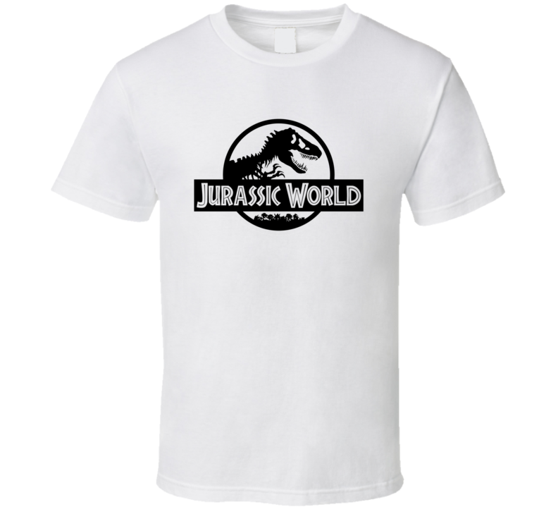 Jurassic World Dinosaur Park Movie Poster T Shirt