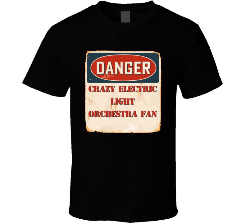 Crazy Electric Light Orchestra Fan Music Artist Vintage Sign T Shirt