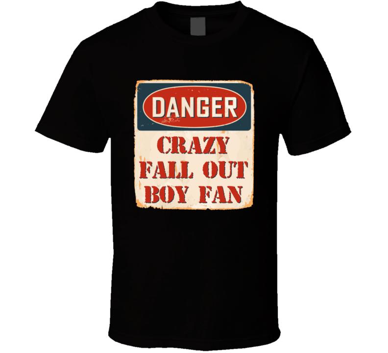 Crazy Fall Out Boy Fan Music Artist Vintage Sign T Shirt