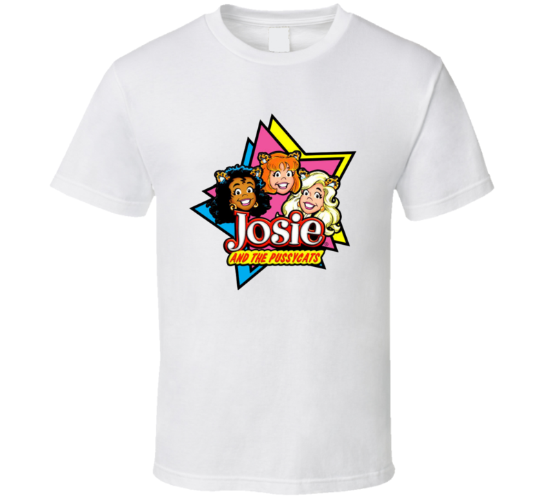 Josie And The Pussy Cats Band Comic Character T Shirts T Shirt