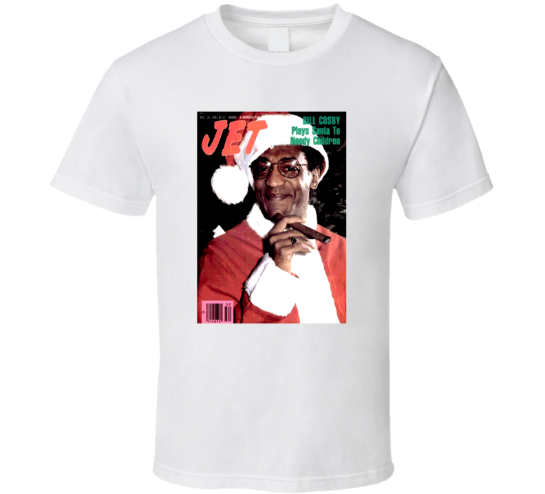 Bill Cosby Santa Claus Controversial Magazine T Shirt