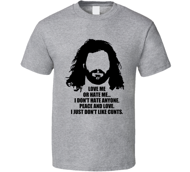 Love Or Hate Me Martin Castrogiovanni Rant Rugby T Shirt