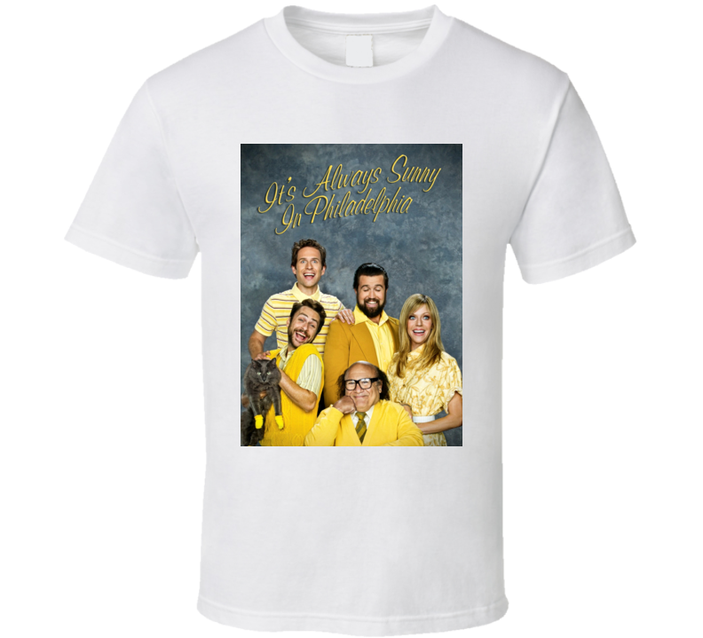 Its Always Sunny In Philadelphia Character Portrait T Shirt