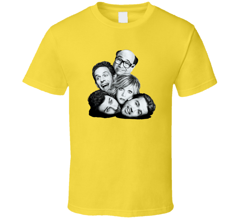 Its Always Sunny In Philadelphia Philly Character Heads T Shirt