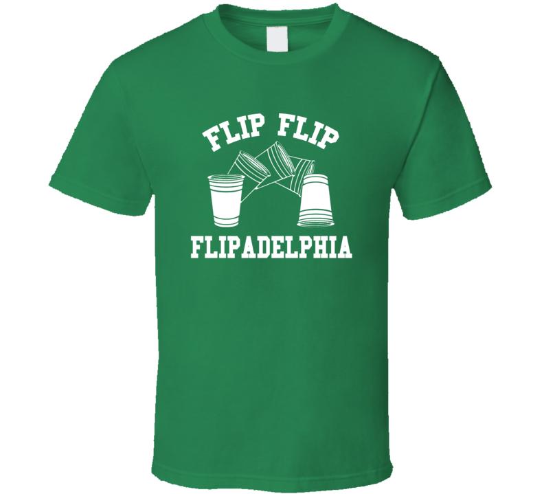 Flipadelphia Always Sunny St Patricks Day Beer T Shirt