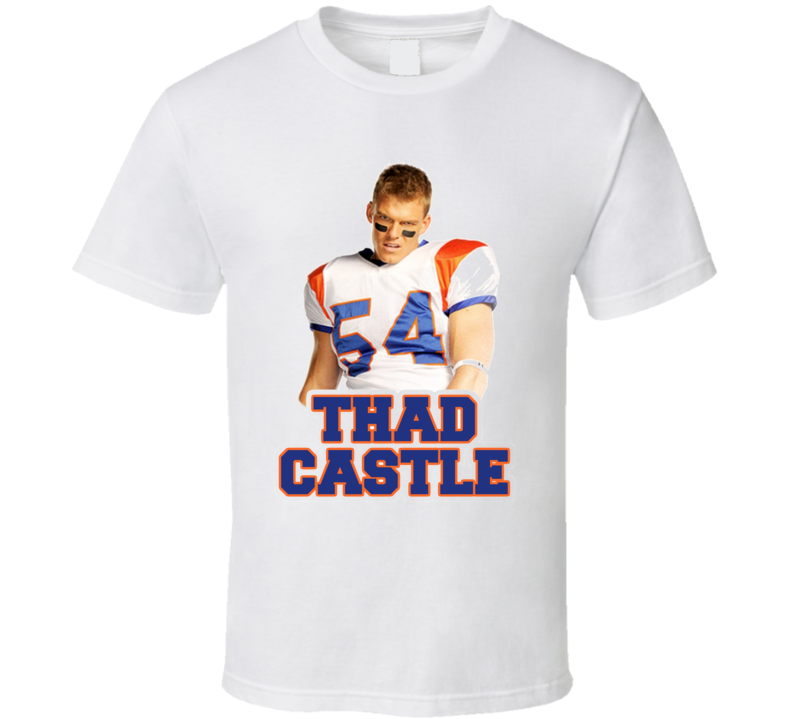 Blue Mountain State Thad Castle Alan Ritchson Football T Shirt