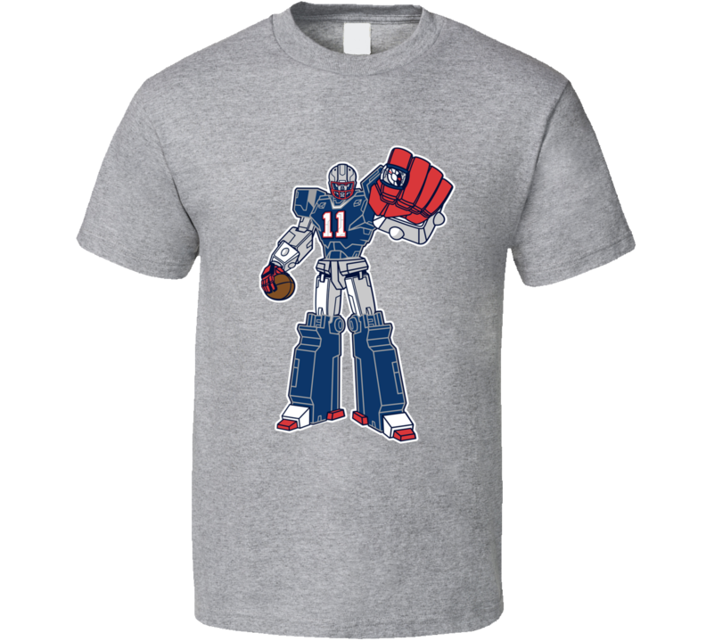 SuperTron Julian Edelman New England Superbowl Football T Shirt