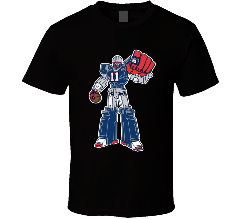 SuperTron Julian Edelman Minitron New England Football T Shirt