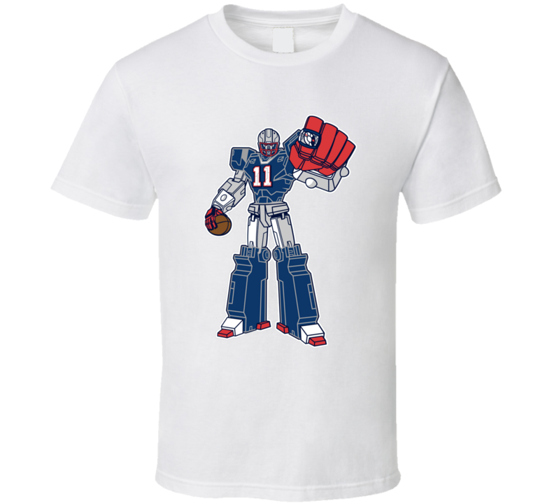 SuperTron Minitron Julian Edelman New England Football T Shirt