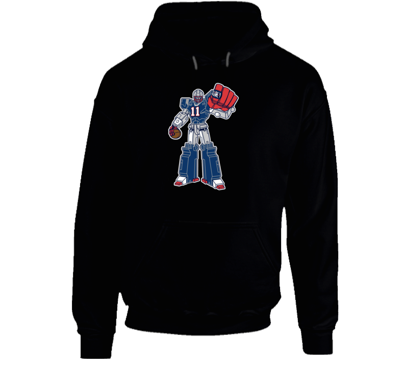 SuperTron Julian Edelman Minitron New England Football Hoodie