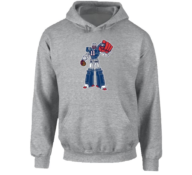 SuperTron Edelman Minitron New England Football Hoodie