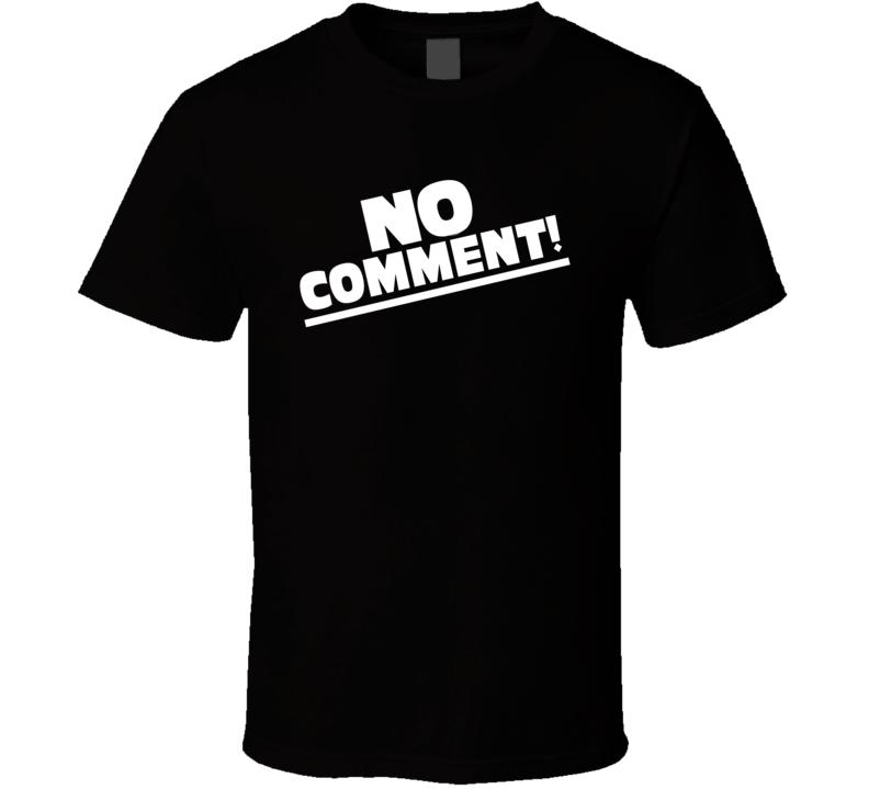 Team Tonya Harding No Comment Retro Media Figure Skating T Shirt