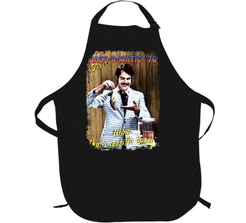 Bass O Matic Dan Aykroyd SNL Funny Grill Cooking Apron