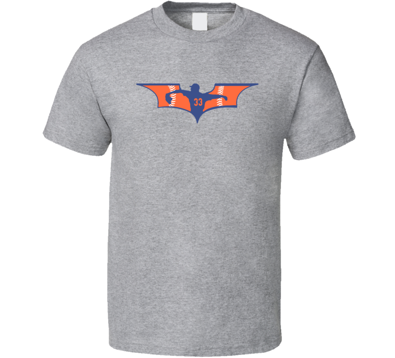 Dark Knight Matt Harvey New York Baseball T Shirt