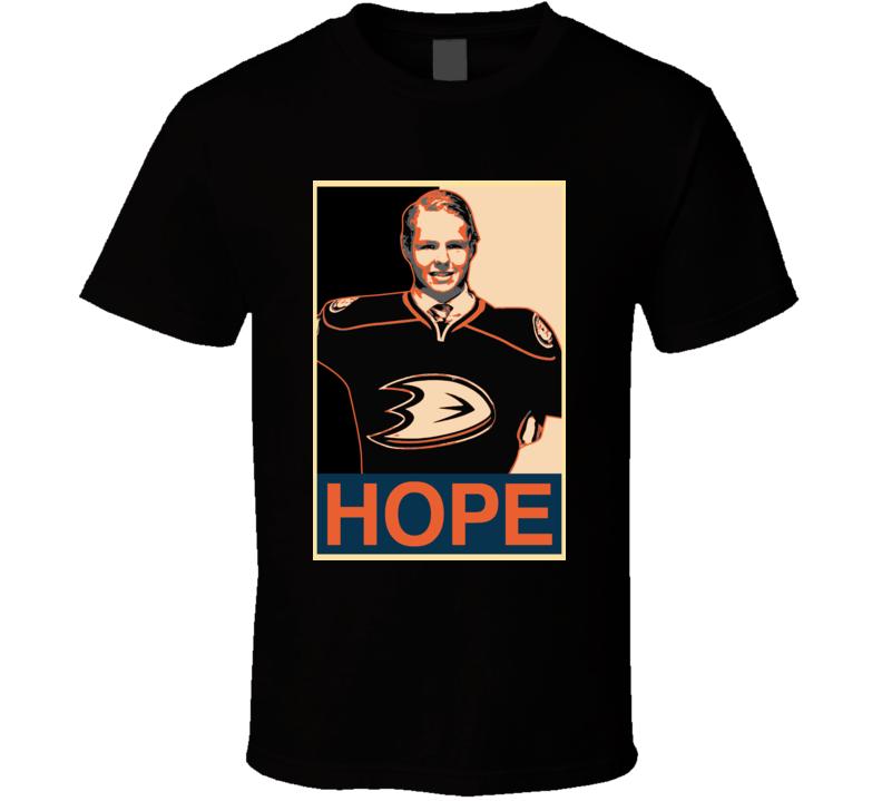 Hockey Anaheim Hope Hampus Lindholm T Shirt