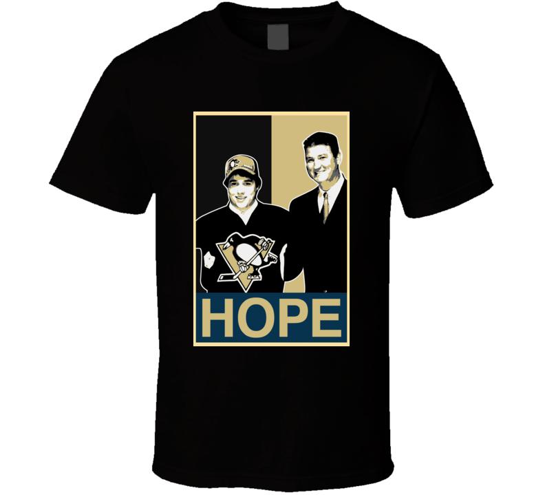 Hockey Hope Pittsburgh Derrick Pouliot Mario Lemieux T Shirt