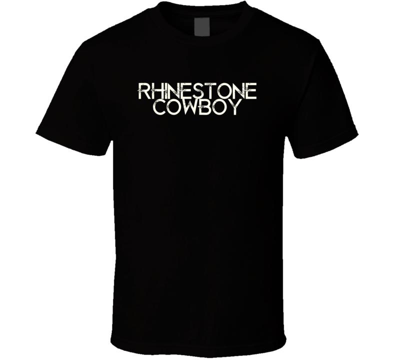 Rhinestone Cowboy Glen Campbell country  T Shirt