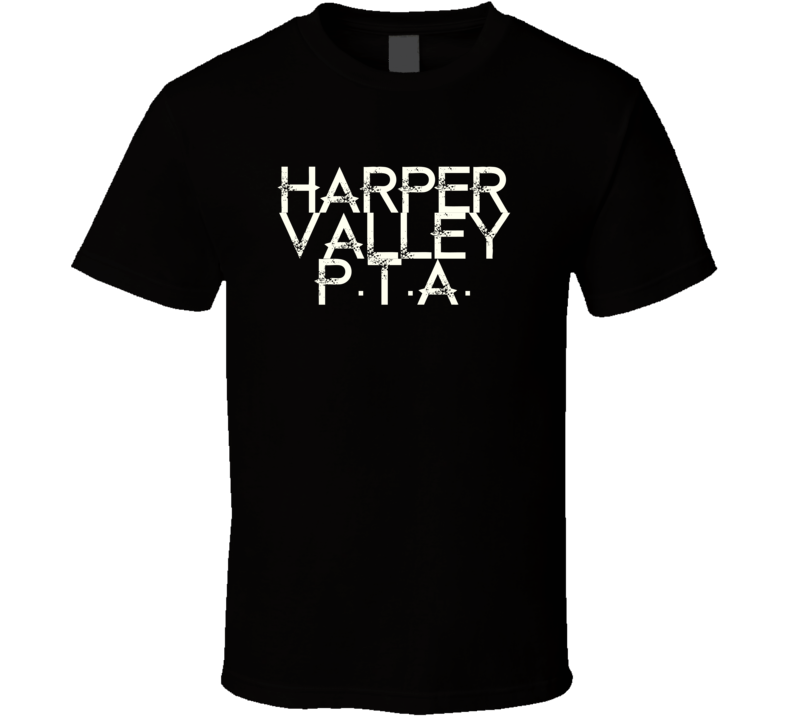 Harper Valley Pta Jeannie C Riley Country Music T Shirt